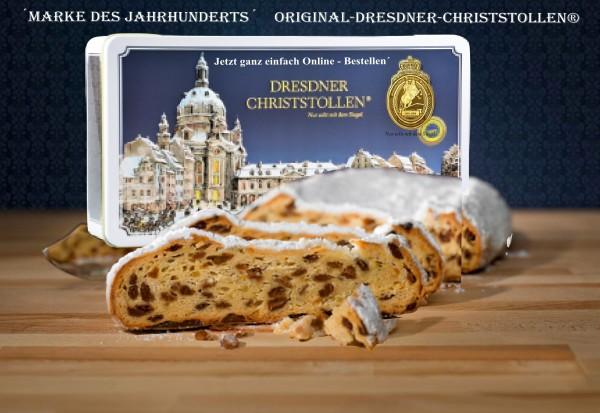 Original-Dresdner-Christstollen® Rosinenstollen 1,5kg