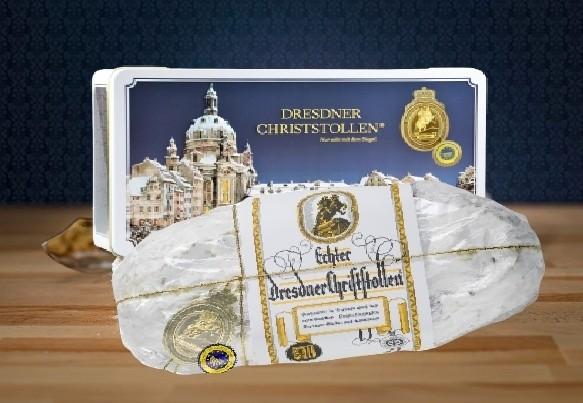 Original-Dresdner-Christstollen® 1,5 kg Premium mit Banderole