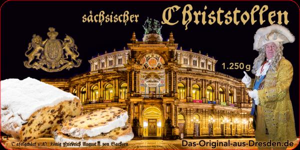 Sächsischer Christstollen 1.250g