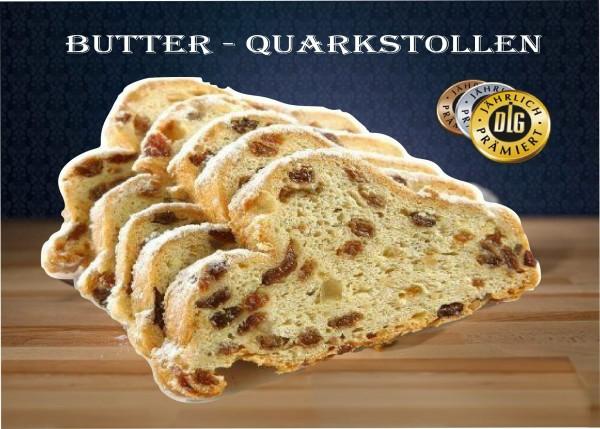 Butter Quarkstollen